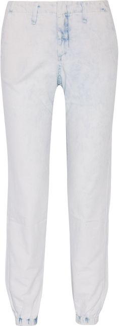Rag & bone Pajama denim tapered pants