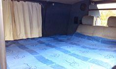 Side folding bed VW T5