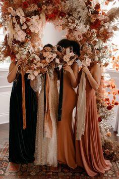 Fall Wedding Colors, Autumn Wedding, Floral Wedding, Indoor Fall Wedding, Wedding Ideas For Fall, Burgundy Wedding, Wedding Flowers, Wedding Goals, Dream Wedding