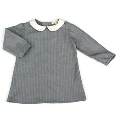 Mabo Kids: Peter Pan Collar Dress, Multiple Options Available