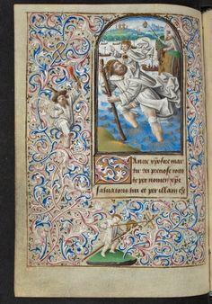 Libro de horas de Simon de Varie. Parte 1 — Visor — Biblioteca Digital Mundial