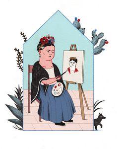 Frida Kahlo - alessandra de cristofaro