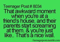 funny teenager post awkward moments - Google Search
