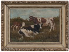 Landscape with Cows (9/6/2014 - Cleveland Inaugural Auction: Live Salesroom Auction)
