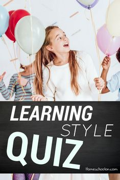 Do you know your child's learning style? An Auditory learner, visual learner, and kinesthetic learner each approaches learning a different way. It can be SUPER informative to understand how a child learns, take the learning style quiz today!