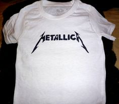 Metallica Toddler T-Shirt For Sale #Metal #Rock #CoolKidsClothes #KidsClothes #Youth #Clothing