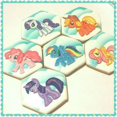 Andrea's Oven - my little pony cookies