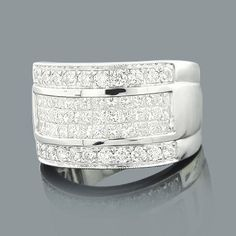 Cute Wide Wedding Bands Round Princess Cut Diamond Ring ct K