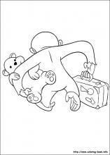 Curious George coloring pages on Coloring-Book.info