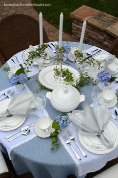 Tying the Knot: Mikasa Cameo Platinum Dinnerware | Home is Where the Boat Is
