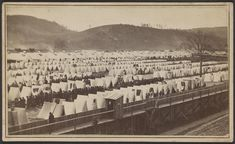 Larger view of rebel prison camp in Elmira. My x2 great grandfather was a prisoner of war here.