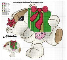 Xmas Cross Stitch, Cross Stitch Pillow, Just Cross Stitch, Cross Stitch Bookmarks, Cross Stitch Cards, Cross Stitch Animals, Cross Stitching, Cross Stitch Embroidery, Cross Stitch Designs