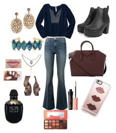 """""""Piper Halliwell"""" by mcriss665 ❤ liked on Polyvore featuring Aéropostale, Frame Denim, Givenchy, Casetify, Elizabeth Cole, Accessorize, Benefit, Alexander McQueen and Too Faced Cosmetics"""