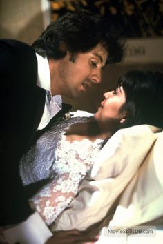 Rocky II - Publicity still of Sylvester Stallone & Talia Shire Rocky Ii, Rocky 1976, Sylvester Stallone, Talia Shire, Rocky And Adrian, Rocky Balboa Poster, Expendables Movie, Rocky Series, Boxing