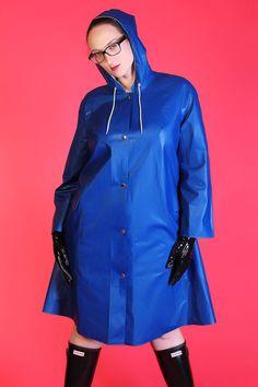 48 Rubber Raincoats, Pvc Raincoat, Rain Wear, Hoods, Rain Jacket, Windbreaker, Kitty, Sexy, Leather