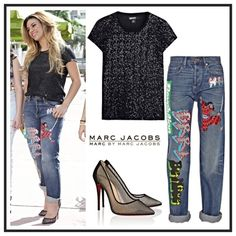 """'Ninja' Annie Boyfriend Jeans Marc by Marc Jacobs Straight from the runway and the MMJ Fall 2014 Collection are the 'Ninja' style jeans,  nostalgic of the 90′s. They are in the traditional """"Annie"""" Boyfriend fit, which has the perfect amount of stretch as well as the right amount of bagginess. You would think finding the perfect pair of boyfriend jeans should be the easiest thing to do, literally go into your boyfriends closet and put on his jeans. WRONG! Look no further, these won't…"""