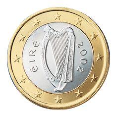 Ireland 1€ (One Euro) Coin