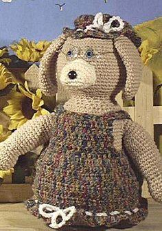 Granny Dog Crochet Pattern