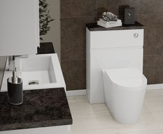 Grip - Grip is a stunning storage solution for any size bathroom. This back to wall pan is from our brand new Faro sanitaryware range.