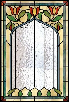 16 PIECES each transparent Window sticker Self Adhesive Stained Glass Victorian Stained Glass Panels, Stained Glass Door, Stained Glass Flowers, Stained Glass Designs, Stained Glass Projects, Stained Glass Patterns, Leaded Glass, Mosaic Glass, Art Nouveau