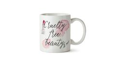 Cruelty free beauty WC mug