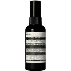 Aesop Avail Body Lotion SPF 50 ($41) ❤ liked on Polyvore featuring beauty products, bath & body products, sun care, beauty, filler and aesop