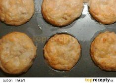 Muffiny se sýrem a anglickou slaninou recept - TopRecepty.cz Food And Drink, Pizza, Breakfast, Recipes, Morning Coffee, Ripped Recipes, Cooking Recipes