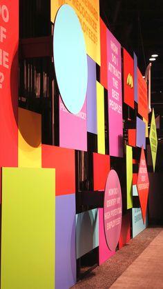 Mauk Design — McDonald's - corporate event design Web Banner Design, Backdrop Design, Display Design, Booth Design, Wall Design, Design Design, Corporate Event Design, Event Branding, Environmental Graphics