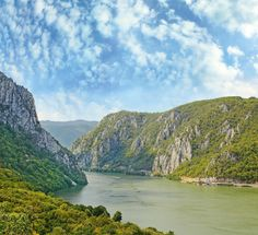 Danube gorge, Danube in Djerdap National Park