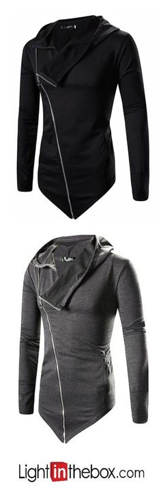 Men's Petite Casual/Daily Simple Active Street chic Sweatshirt