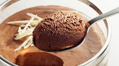 Thermomix recipe for chocolate mousse-Thermomix-Rezept für Mousse au chocolat Recipe for the Thermomix: Mousse au chocolat - Low Carb Chocolate Mousse, Chocolate Low Carb, Sugar Free Chocolate, Vegetarian Chocolate, Chocolate Desserts, Baking Chocolate, Chocolate Chocolate, Chocolate Lovers, Torte Au Chocolat