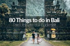 Check out our definitive list of the 80 things to do in Bali. We've scoured the island for anything and everything that you're going to want to see on your trip