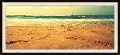 Beach in Calafell, Costa Dorada (Spain)