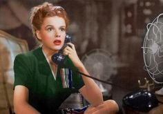 """Judy Garland in """"Life Begins for Andy Hardy"""" (1941)"""