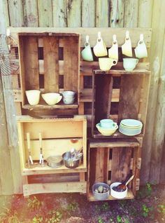 Mud kitchen idea