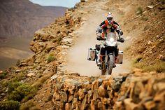 KTM 1190 Adventure R in action