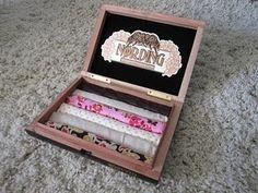 cigar box ring holder