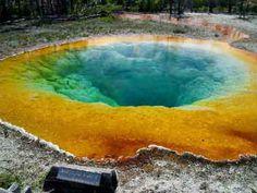 Fuentes termales en  Yellowstone