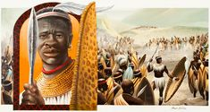 In 1975, the Anheuser-Busch Corporation began commissioning a series of paintings and accompanying mini-histories of great African kings and queens of history, hoping to appeal to African-American ...