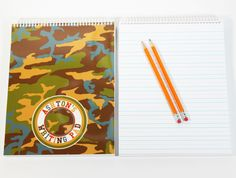 Encourage the kids to improve their writing and penmanship skills with a customized writing pad with 100 sheets.