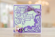 TLD0687 Special Dreams by Tattered Lace from the Felicitations collection