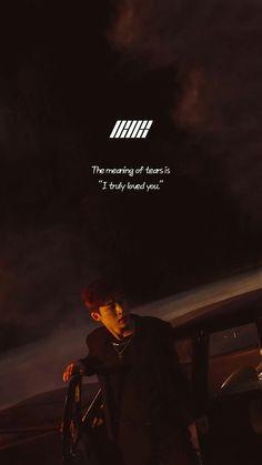 Kim Jinhwan, Chanwoo Ikon, Bts Quotes, Song Quotes, Drama Quotes, Song Lyrics Wallpaper, Wallpaper Quotes, Ikon Songs, Pop Lyrics