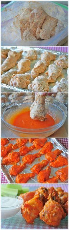 Inspiring snaps: Baked Chicken Wings