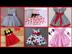 Inicio - YouTube Baby Frocks Designs, Frock Design, Learn To Sew, Summer Collection, Blouse Designs, Kids Outfits, Beauty Hacks, Summer Dresses, Dress Models