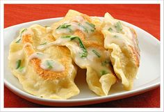 My late grandfather, of Polish and German heritage, used to make cheese and potato perogies for me when I was a child.