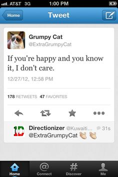 Grumpy Cat Tweets