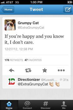 Grumpy Cat Tweets