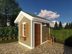Simple pool house plan features a half bath and changing bench; Pool Deck Plans, Pool House Plans, Gazebo Plans, Patio Plans, Barn Plans, Garage Plans, Shed Plans, Building A Garage, Building Plans