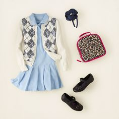 girl - outfits - A+ uniform looks - argyle girl | Children's Clothing | Kids Clothes | The Children's Place