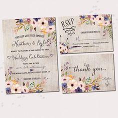 Cool 50+ Lovely Floral Wedding Invitation Ideas https://weddmagz.com/50-lovely-floral-wedding-invitation-ideas/
